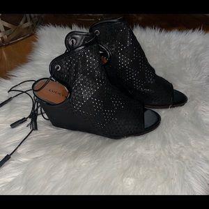 Lucky Brand Riskee Wedge Sandal NWT!!
